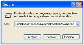 Desinstalar Windows Messenger