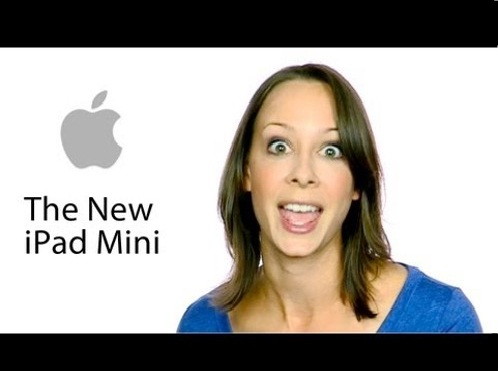 El iPad Mini de Apple y su primer comercial filtrado