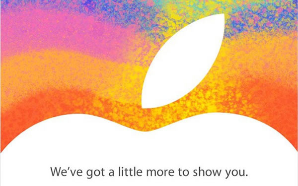 Apple invita al lanzamiento del iPad Mini