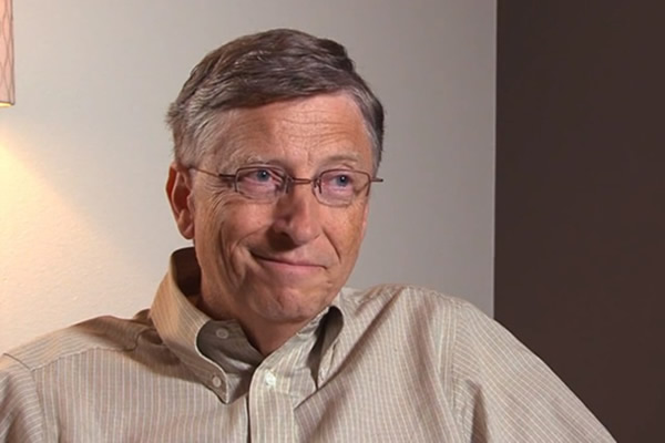 Video: Bill Gates habla sobre el Windows 8