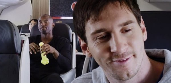 Nuevo Video Viral: Lionel Messi vs Kobe Bryant