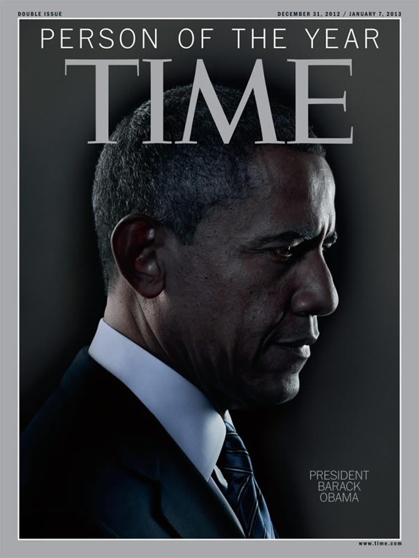 Persona del Año 2012 para la Revista Time: Obama