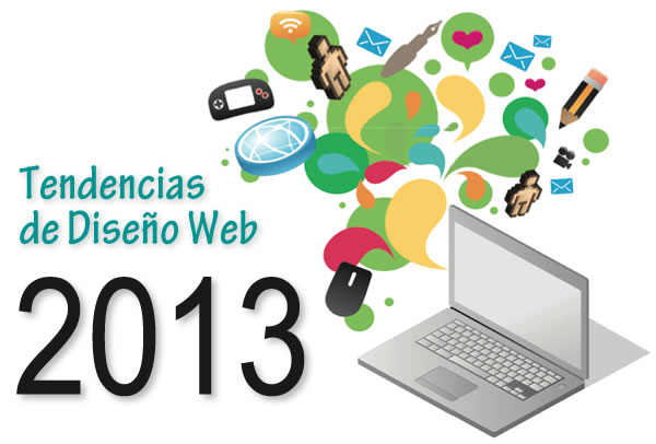 Top 10 Tendencias de Diseño Web del 2013