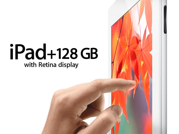 Apple anuncia oficialmente el iPad de 128GB