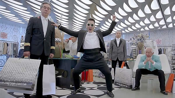 Video Gentleman de Psy también impone récord