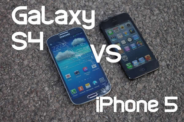 Video iPhone 5 vs Galaxy S4 ¡El esperado Test de Caídas!
