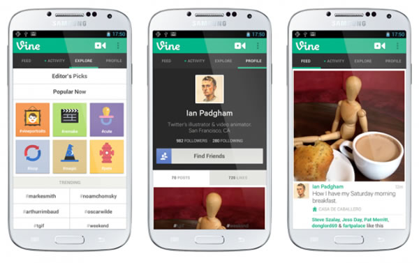 Twitter lanza Vine para Android