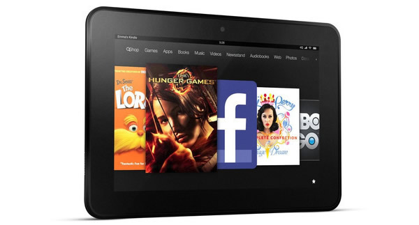 Amazon rebaja en 25% su Kindle Fire