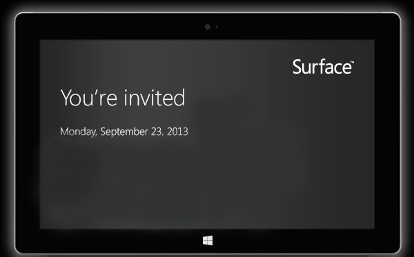 Microsoft invita al próximo evento Surface