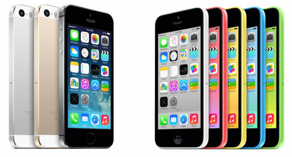 Ventas del iPhone 5S superan a las del iPhone 5C por más del doble!
