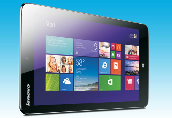 Lenovo lanza la primera tablet Windows 8.1 de 8 pulgadas
