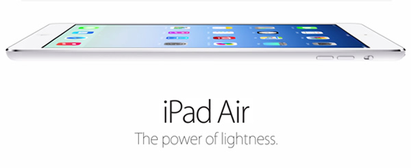 Apple lanza su iPad Air - La esperada quinta generación iPad