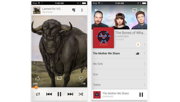 "Google Music llega a iOS con un mes gratis de ""All Access"" radio"