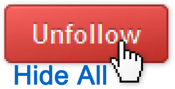 "Facebook reemplaza su botón ""Hide All"" con un ""Unfollow"" en su feed"