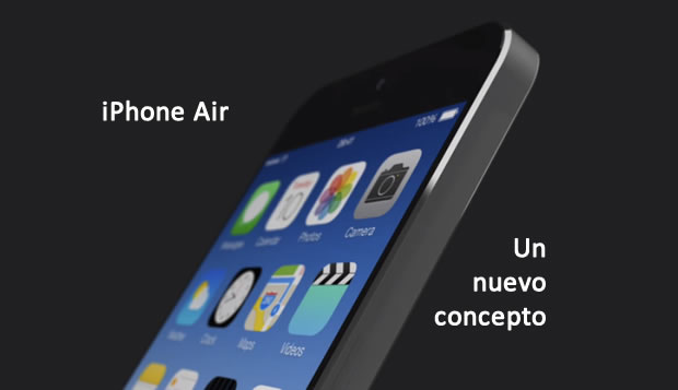Conoce al iPhone Air: Un nuevo concepto (Video)
