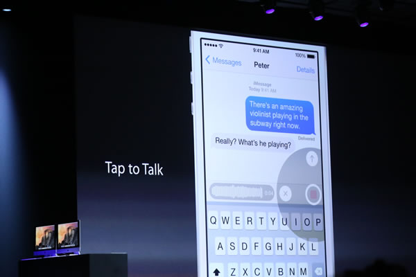 Apple presenta iOS 8: Notificaciones Interactivas, Salud y más