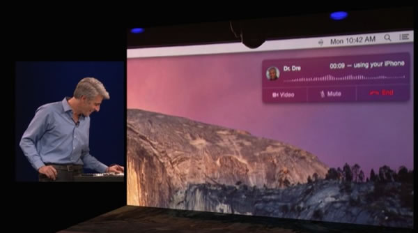 Apple anuncia Mac OX X 10.10 Yosemite en la WWDC 2014
