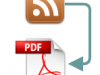 Convierte tus feeds RSS a PDF
