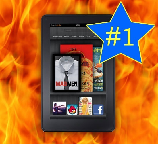 El Kindle Fire supero las ventas del iPad