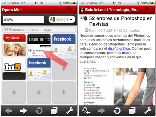 Apple aprueba Opera Mini para el iPhone
