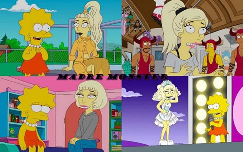 Lady-Gaga-Simpsons