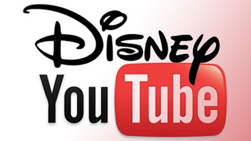Disney y Youtube se unen para emitir contenido exclusivo por internet