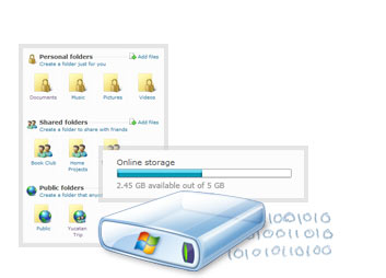 25GB de almacenamiento gratis con Windows Live SkyDrive