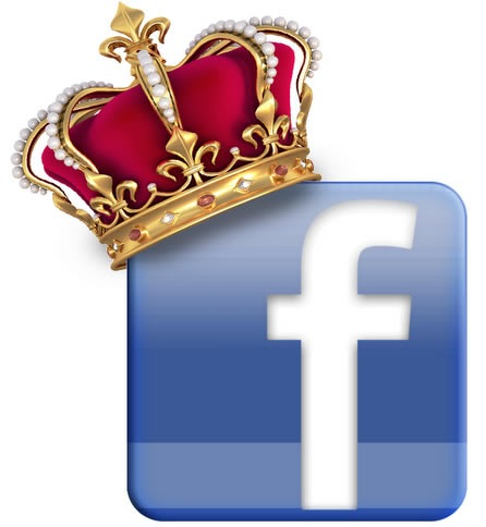 Facebook es coronada como la red social mas popular
