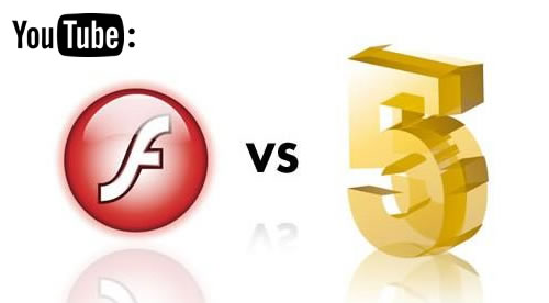 YouTube: HTML5 no es rival para Flash