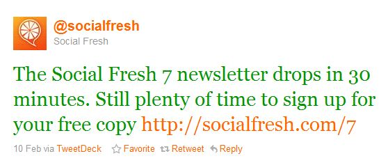 Social Fresh Email Marketing