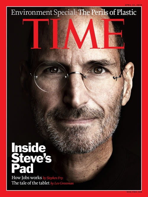 Steve Jobs revista Times 12 de abril 2010