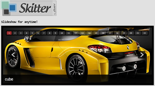 Skitter: Excelente slideshow con jQuery