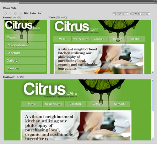 Dreamweaver CS5 HTML5 Preview Multiple