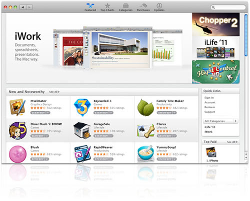Apps Gallery Mac App Store