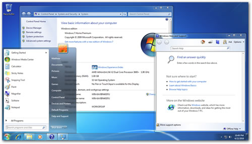 Windows 7 Home Premium en inglés (original)