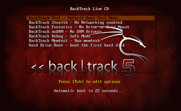 backtrack boot