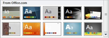 PowerPoint Seasonal Themes