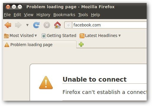 Hosts Firefox Facebook