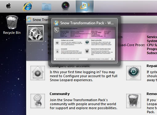 Cómo transformar Windows 7 en una Mac OS X