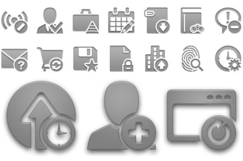Completo set de íconos para Android (15,000 items)