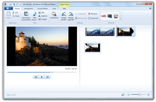 Descarga el nuevo Windows Live Movie Maker (WLMM)