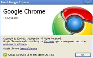 Descargar Google Chrome 10