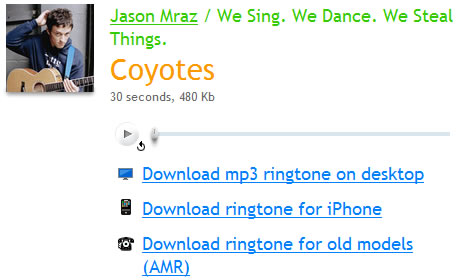 Descargar Ringtones iPhone