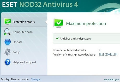 ESET Smart Security & NOD32 4.0 Beta