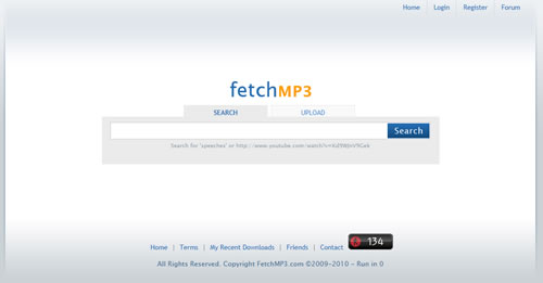 Fetch MP3, para descargar el audio de los videos de YouTube y Dailymotion