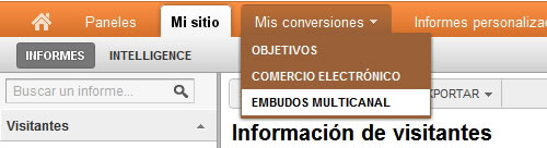 Embudos Multicanal en Google Analytics