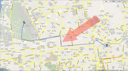 Mapa Satelital Google Maps