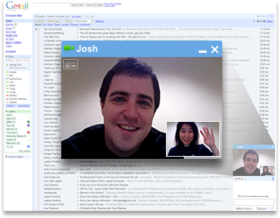 Google lanza video chat para Gmail