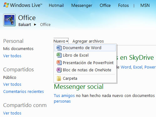 MS Office Online Lanzado!