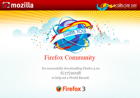 Oficial: Firefox bate Records Guiness